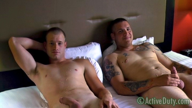 Bruce & Nick Oral - Active Duty - Men of Gay Military Porn - Photo #21