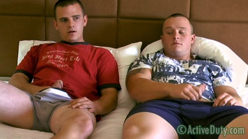 Lane's 1st Experience With A Guy - ActiveDuty.com - Men of Gay Military Porn - Photo #3