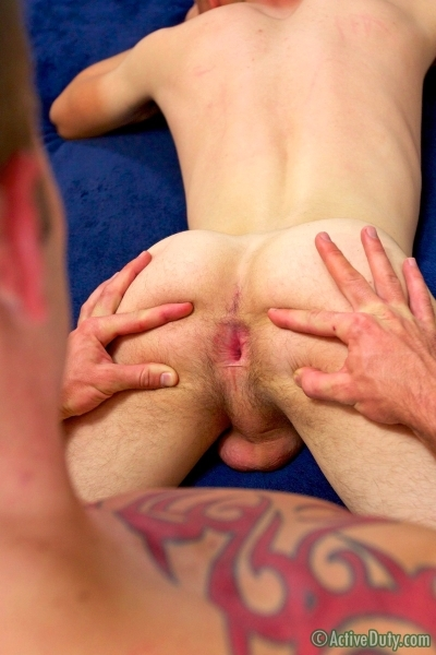 New Recruit Marco Bottoms For Hung Jake In His Debut - Active Duty - Men of Gay Army Porn - Photo #10