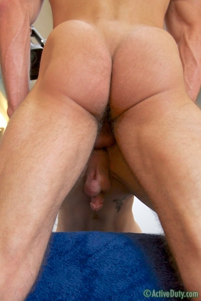 New Recruit Marco Bottoms For Hung Jake In His Debut - Active Duty - Men of Gay Army Porn - Photo #13