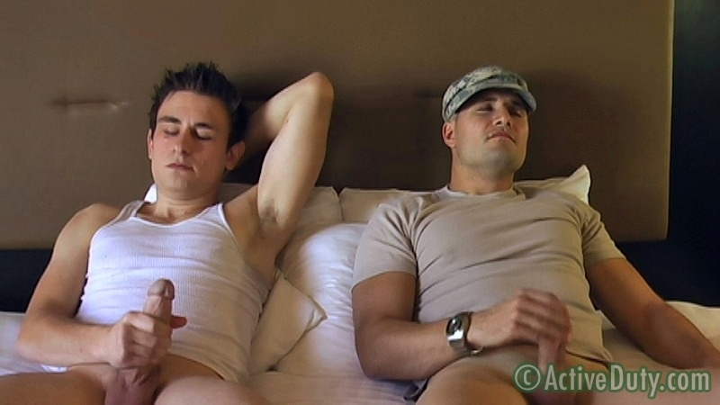 Double-Feature: Ryan Solo & Bryce With Ryan Oral - ActiveDuty.com - Men of Gay Military Porn - Photo #6