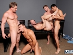 Ace Of Spades - David Chase - Luke Hass - Brenden Cage - Robert Van Damme - Jeremy Stevens - Jizz Orgy - Men of Gay Porn - Photo #6