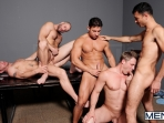 Ace Of Spades - David Chase - Luke Hass - Brenden Cage - Robert Van Damme - Jeremy Stevens - Jizz Orgy - Men of Gay Porn - Photo #8