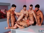 The Hacker - Dean Monroe - Shane Frost - Jessie Colter - Damien Stone - Trenton Ducati - Jizz Orgy - Men of Gay Porn - Photo #11
