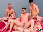 4 Tops 1 Bottom - Cole Streets - Trevor Knight - Tyr Alexander - Troy Collins - Rex Roddick - Jizz Orgy - Men of Gay Porn - Photo #11