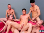 4 Tops 1 Bottom - Cole Streets - Trevor Knight - Tyr Alexander - Troy Collins - Rex Roddick - Jizz Orgy - Men of Gay Porn - Photo #12