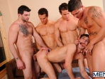 Johnny Rapid Gang Bang - Johnny Rapid - Tony Paradise - Sebastian Young - Rosso Twins - Jizz Orgy - Men of Gay Porn - Photo #18