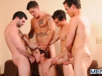 Johnny Rapid Gang Bang - Johnny Rapid - Tony Paradise - Sebastian Young - Rosso Twins - Jizz Orgy - Men of Gay Porn - Photo #5