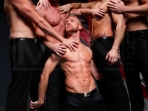Masked Men - Cole Streets - Phenix Saint - Christopher Daniels - Mitch Vaughn - Micah Jones - Jizz Orgy - Men of Gay Porn - Photo #3