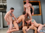 Coach Got A Boner - Rafael Alencar - Ricky Sinz - Tony Paradise - Spencer Fox - Sebastian Keys - Jizz Orgy - Men of Gay Porn - Photo #14