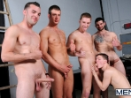On The Set - Tyler Sweet - Tony Paradise - Spencer Fox - Sebastian Keys - Brad Foxx - Jizz Orgy - Men of Gay Porn - Photo #12