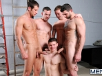 On The Set - Tyler Sweet - Tony Paradise - Spencer Fox - Sebastian Keys - Brad Foxx - Jizz Orgy - Men of Gay Porn - Photo #6