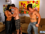 After The Masquerade - Trey Turner - Sebastian Young - Andrew Stark - Drill My Hole - Men of Gay Porn - Photo #5