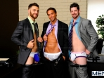 The Promotion - Tommy Defendi - Rocco Reed - Andrew Stark - The Gay Office - Men of Gay Porn - Photo #5