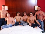 Turn Me Into A Whore 3 - Johnny Rapid - Jimmy Johnson - Charlie Harding - Liam Magnuson - Jack King - Riley Banks - Jizz Orgy - MEN.COM - Men of Gay Porn - Photo #4