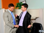 Last Day On The Job - Rocco Reed - Donny Wright - The Gay Office - Men of Gay Porn - Photo #6