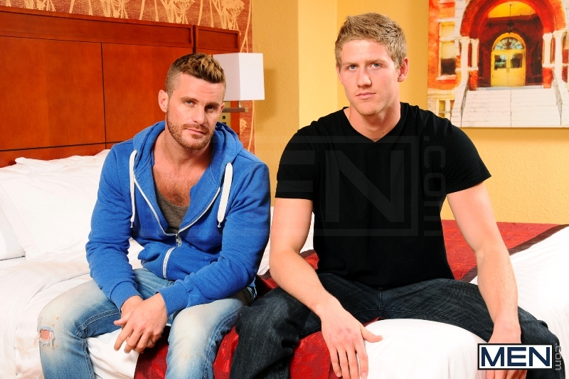 The Divorcee - Landon Conrad - Brett Carter - Str8 To Gay - Photo #1