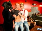Justified - Damien Crosse - Issac Jones - Lucio Saints - Marco Sessions - Donato Reyes - Jizz Orgy - Photo #1
