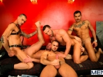 Justified - Damien Crosse - Issac Jones - Lucio Saints - Marco Sessions - Donato Reyes - Jizz Orgy - Photo #10