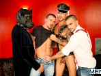 Justified - Damien Crosse - Issac Jones - Lucio Saints - Marco Sessions - Donato Reyes - Jizz Orgy - Photo #3