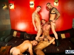 Justified - Damien Crosse - Issac Jones - Lucio Saints - Marco Sessions - Donato Reyes - Jizz Orgy - Photo #9