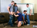 Sex Addicks Anonymous - Trevor Knight - Colby Keller - Colby Jansen - Rocco Reed - Mike De Marko - Jizz Orgy - Photo #10