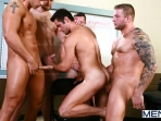 Sex Addicks Anonymous - Trevor Knight - Colby Keller - Colby Jansen - Rocco Reed - Mike De Marko - Jizz Orgy - Photo #13