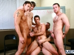 Sex Addicks Anonymous - Trevor Knight - Colby Keller - Colby Jansen - Rocco Reed - Mike De Marko - Jizz Orgy - Photo #15
