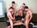 Sex Addicks Anonymous - Trevor Knight - Colby Keller - Colby Jansen - Rocco Reed - Mike De Marko - Jizz Orgy - Photo #17