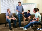 Sex Addicks Anonymous - Trevor Knight - Colby Keller - Colby Jansen - Rocco Reed - Mike De Marko - Jizz Orgy - Photo #5