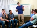 Sex Addicks Anonymous - Trevor Knight - Colby Keller - Colby Jansen - Rocco Reed - Mike De Marko - Jizz Orgy - Photo #6
