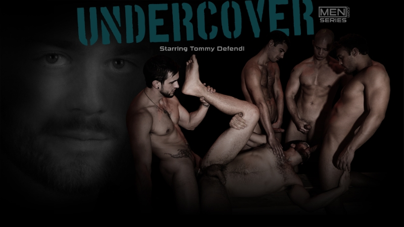 Undercover - Part 1 - Tommy Defendi - Liam Magnuson - Str8 To Gay - Photo #1