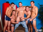 The Strippers - Brandon Lewis - Colby Jansen - Jimmy Johnson - Liam Magnuson - Jack King - Jizz Orgy - Photo #9