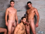 Jizz Shower - Spencer Reed - Tommy Defendi- Jimmy Johnson - Jack King - Hunter Page - Jizz Orgy - Men of Gay Porn - Photo #10