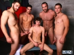 Jizz Shower - Spencer Reed - Tommy Defendi- Jimmy Johnson - Jack King - Hunter Page - Jizz Orgy - Men of Gay Porn - Photo #15