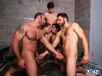 Jizz Shower - Spencer Reed - Tommy Defendi- Jimmy Johnson - Jack King - Hunter Page - Jizz Orgy - Men of Gay Porn - Photo #7