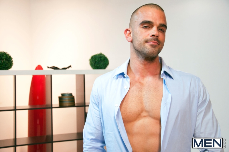Tied - Goran - Damien Crosse - The Gay Office - Photo #1