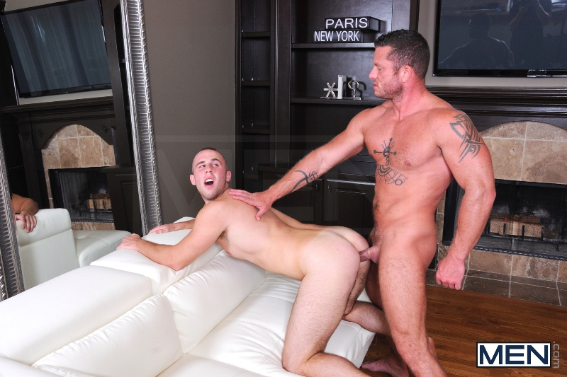 Spying On The Neighbor - Atticus Benson - Charlie Harding - Drill My Hole - Men of Gay Porn - Photo #10
