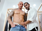 Cut - Lucio Saints - Francesco D'Macho - The Gay Office - Photo #3