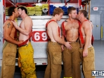 Hot Like Fire - Colby Jansen - Rocco Reed - Landon Conrad - Andrew Stark - Charlie Roberts - Jizz Orgy - Photo #11