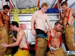 Hot Like Fire - Colby Jansen - Rocco Reed - Landon Conrad - Andrew Stark - Charlie Roberts - Jizz Orgy - Photo #12