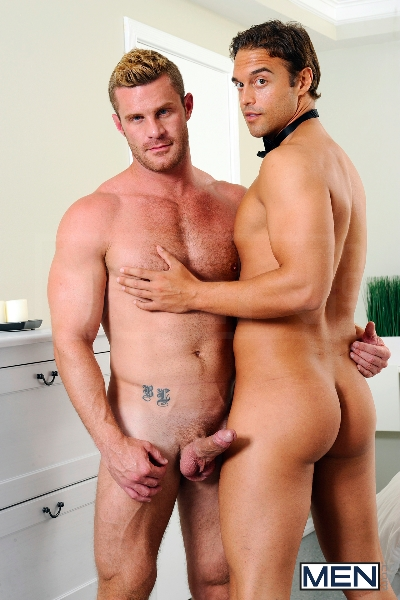 My Bride's Hot Brother - Rocco Reed - Landon Conrad - Str8 To Gay - Men of Gay Porn - Photo #8