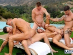 Pool Party - Philip Aubrey - Adam Killian - Jessie Colter - Trenton Ducati - Hans Berlin - Jizz Orgy - Photo #18