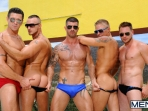 Pool Party - Philip Aubrey - Adam Killian - Jessie Colter - Trenton Ducati - Hans Berlin - Jizz Orgy - Photo #4