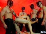 Masked Men 2 - Dean Monroe - Phenix Saint - Spencer Fox - Tommy Defendi - Colby Jansen - Jizz Orgy - Men of Gay Porn - Photo #10