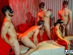 Masked Men 2 - Dean Monroe - Phenix Saint - Spencer Fox - Tommy Defendi - Colby Jansen - Jizz Orgy - Men of Gay Porn - Photo #15
