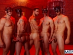 Masked Men 2 - Dean Monroe - Phenix Saint - Spencer Fox - Tommy Defendi - Colby Jansen - Jizz Orgy - Men of Gay Porn - Photo #3