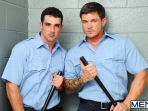 Prison Shower 2 - Johnny Rapid - Sebastian Young - Jack King - Drill My Hole - Men - Photo #2