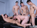 Hazing Ritual - Blaze - Johnny Rapid - Hayden Richards - Dominic Reed - Logan Vaughn - Jizz Orgy - Men of Gay Porn - Photo #13