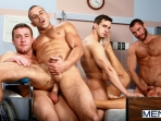 Horny Patient - Phenix Saint - Dylan Roberts - Trevor Knight - Chris Tyler - Jessy Ares - Jizz Orgy - Men of Gay Porn - Photo #12